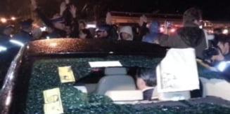 Politia Capitalei: Cel care a spart geamul masinii ministrului Barbu a fost identificat si va fi audiat