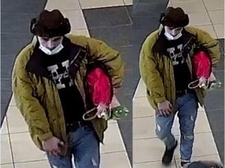 Politia Capitalei cauta un talhar care a amenintat un tanar cu un obiect ce parea o arma si i-a furat banii
