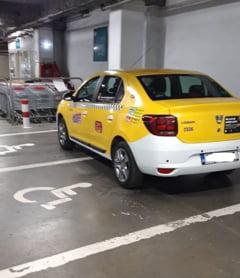 Politia Romana reaminteste soferilor sa nu parcheze pe locurile rezervate persoanelor cu dizabilitati: Riscati amenzi de pana la 10.000 de lei