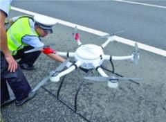 Politia Romana va introduce radare-drone