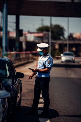 Politia a amendat peste 7.000 de soferi care conduceau masini inmatriculate in alte state pentru ca au pus in pericol traficul rutier