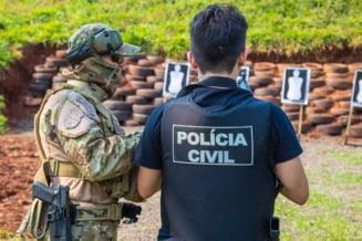 "Politia braziliana, atacata cu sageti de indigeni. Protestatarii au ""incercat sa invadeze"" una dintre intrarile in Parlament"