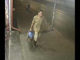 Politia cere ajutor ca sa prinda un barbat care a agresat sexual o femeie la metrou (Foto)