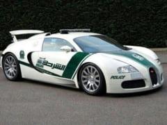 Politia din Dubai s-a imbogatit cu un Bugatti Veyron