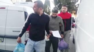 Politia i-a prins cu animalele transate