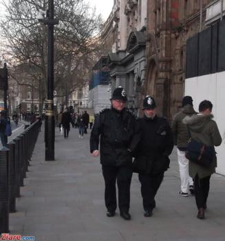 Politia londoneza a arestat un barbat care sustinea ca are o bomba