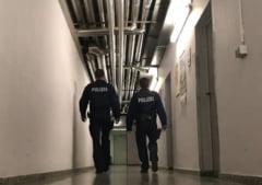 Politia orasului german Hagen supravegheaza doua cladiri locuite de romani