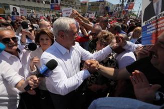 Politia recunoaste ca in zona mitingului PSD de la Targoviste masinile au avut acces cu parola: A fost stabilita de organizator
