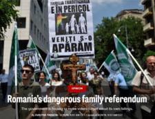 Politico: Referendumul din Romania, un atac la drepturile omului in inima UE, folosit ca sa uite poporul de coruptie