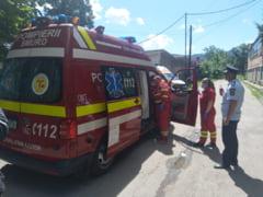 Politisti raniti intr-un accident rutier din Caras Severin