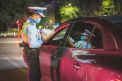 Politistii din Capitala au prins un tanar care a furat o masina si a condus-o neavand permis si fiind sub influenta alcoolului