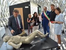 Pompei vizita Klaus Iohannis