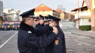 Pompieri avansati in grad, la zi de sarbatoare