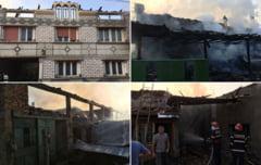 Pompierii au luptat sapte ore cu focul, la Verendin