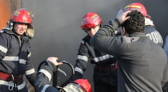 Pompierii bacauani in actiune