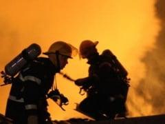 Pompierii din Budesti au intervenit la un incendiu de locuinta