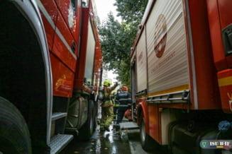 Pompierii militari au intervenit in peste 4.000 de cazuri, in ultimele trei zile