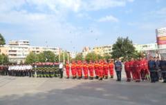 Pompierii militari tulceni, la ceas de sarbatoare