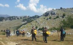 Pompierii raman in Parcul National Domogled pentru supraveghere