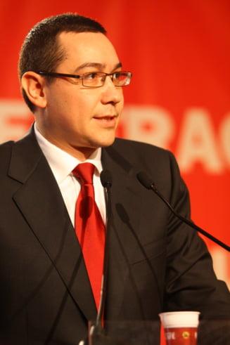 Ponta - USL incepe luni operatiunile pentru guvern de tehnocrati sau de uniune