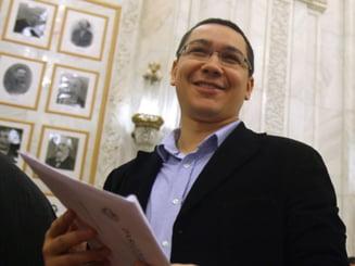 Ponta: Acordul cu FMI, sinucidere nationala - daca ajungem la Putere il suspendam
