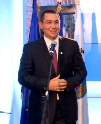 Ponta: Adrian Sarbu mi-a spus ca toti au iesit presedinti in Romania cu ajutorul lui