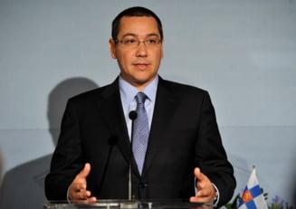 Ponta: Am ales cea mai buna formula de guvernare - USL