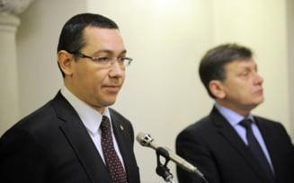 Ponta: Am convingerea ca Antonescu a decis sa candideze la prezidentiale din Opozitie