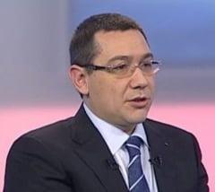 Ponta: Am doua domenii in care s-au deblocat posturi si se vor mai debloca