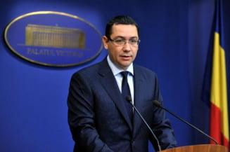 Ponta: Am gasit o solutie politica impreuna cu Basescu