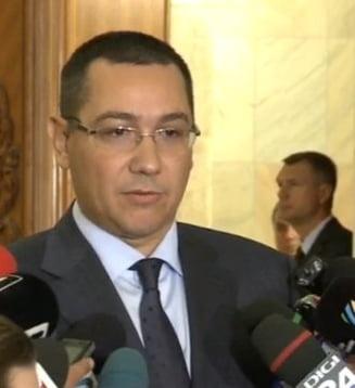 Ponta: Am vorbit cu Antonescu, ne-am impacat