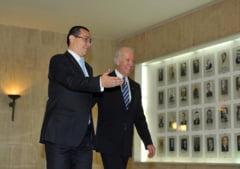 Ponta: Am vorbit cu Biden despre gazele de sist. SUA incurajeaza exploatarea