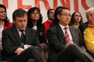 Ponta: Antonescu face motiune de cenzura impreuna cu cei pe care am vrut sa ii dam jos