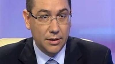 Ponta: Antonescu poate fi candidat in cazul refacerii USL. Noi nu vom mai fi prieteni