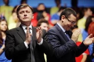 Ponta: Antonescu s-a lasat singur in offside cu Legea minelor