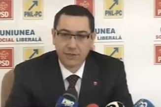 Ponta: Asa cum Udrea e un Basescu in fusta, Vass e un Boc in fusta si pe tocuri