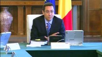Ponta: Astazi voi nominaliza ministrii pentru portofoliile de la Educatie si Cultura