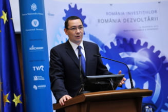 Ponta: Banii din acciza merg la bugetul mare si de acolo la infrastructura si alte proiecte