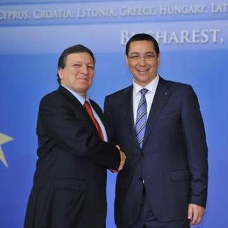 Ponta: Barroso a apreciat c-am respectat cele 11 puncte