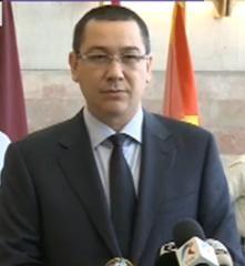 Ponta: Basescu a facut declaratiile despre unirea cu Moldova dupa un pahar cu vin cu Voronin (Video)