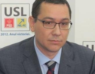 Ponta: Basescu nu e seful DNA sa ceara ridicarea imunitatilor. Blaga: E o cerere fireasca