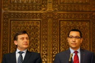 Ponta: Basescu s-a rastit la noi, nu se poate stapani. Fara Crin nu e USL!