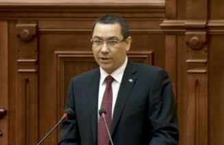 Ponta: Basescu va vrea Parlament bicameral de la anul