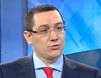 Ponta: Blaga si MRU vor fi liderii Opozitiei dupa parlamentare