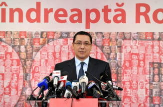 Ponta: Brok e demagog, iresponsabil. Ca si Macovei, are o gandire nazista, fascista