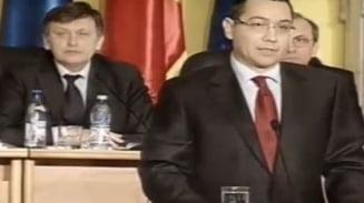 Ponta: Bugetul pe 2013 reprezinta o viziune total diferita fata de guvernarea PDL