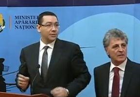 Ponta: Bugetul pentru armata va creste constant (Video)