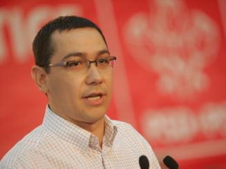 Ponta: Candidez si in 2012 in Gorj, Udrea este binevenita sa candideze la Targu-Jiu