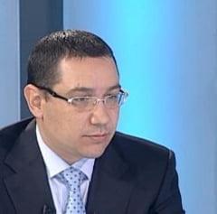 Ponta: Cresterea salariilor bugetarilor sa se faca diferentiat, in functie de venituri si profesii