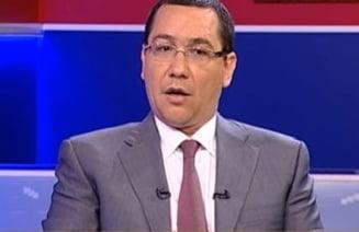 Ponta: Cu exceptia PSD, toate partidele sunt de traseisti politici